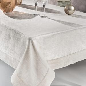 Τραπεζομάντηλο CANVAS IVORY jacquard polyester GUY LAROCHE
