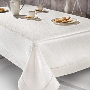 Τραπεζομάντηλο ARTIST IVORY jacquard polyester GUY LAROCHE