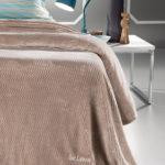 Κουβέρτα Utra Soft FABIA CAMEL  1
