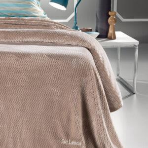 Κουβέρτα Utra Soft FABIA CAMEL