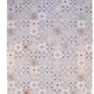 Βαμβακερό Χαλί Carlucci Bizerte Blue