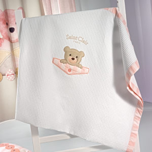 Κουβέρτα πικέ TEDDY ROSE