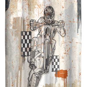 Koυρτίνα Motocross ύφασμα για ραφή 160x285