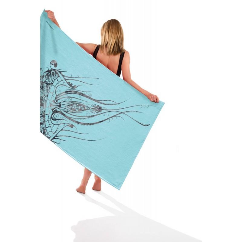 πετσέτα-θαλάσσης-guy-laroche-1804-turquoise-90×180