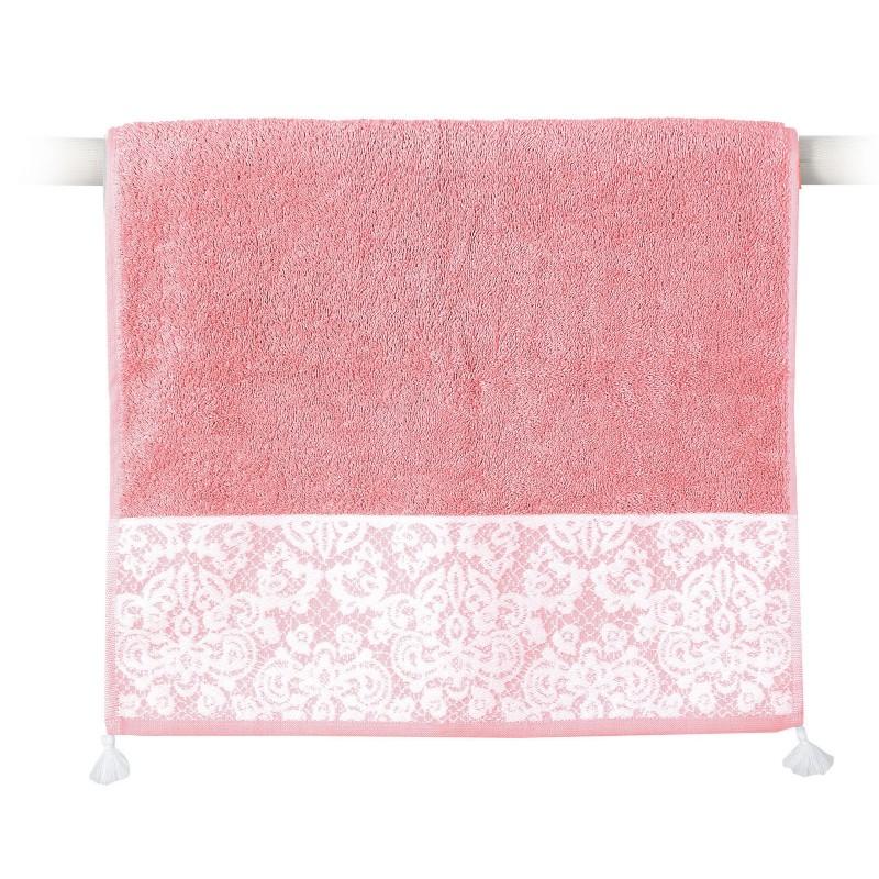 πετσέτα-χεριών-nef-nef-nadia-peach-30×50