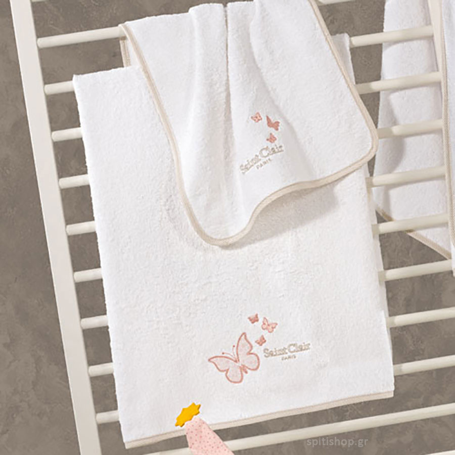 115189dbbd0 βρεφικές-πετσέτες-σετ-2τμχ-saint-clair-contessa