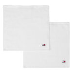LEGEND 2 LOT SERVIETTES WHITE