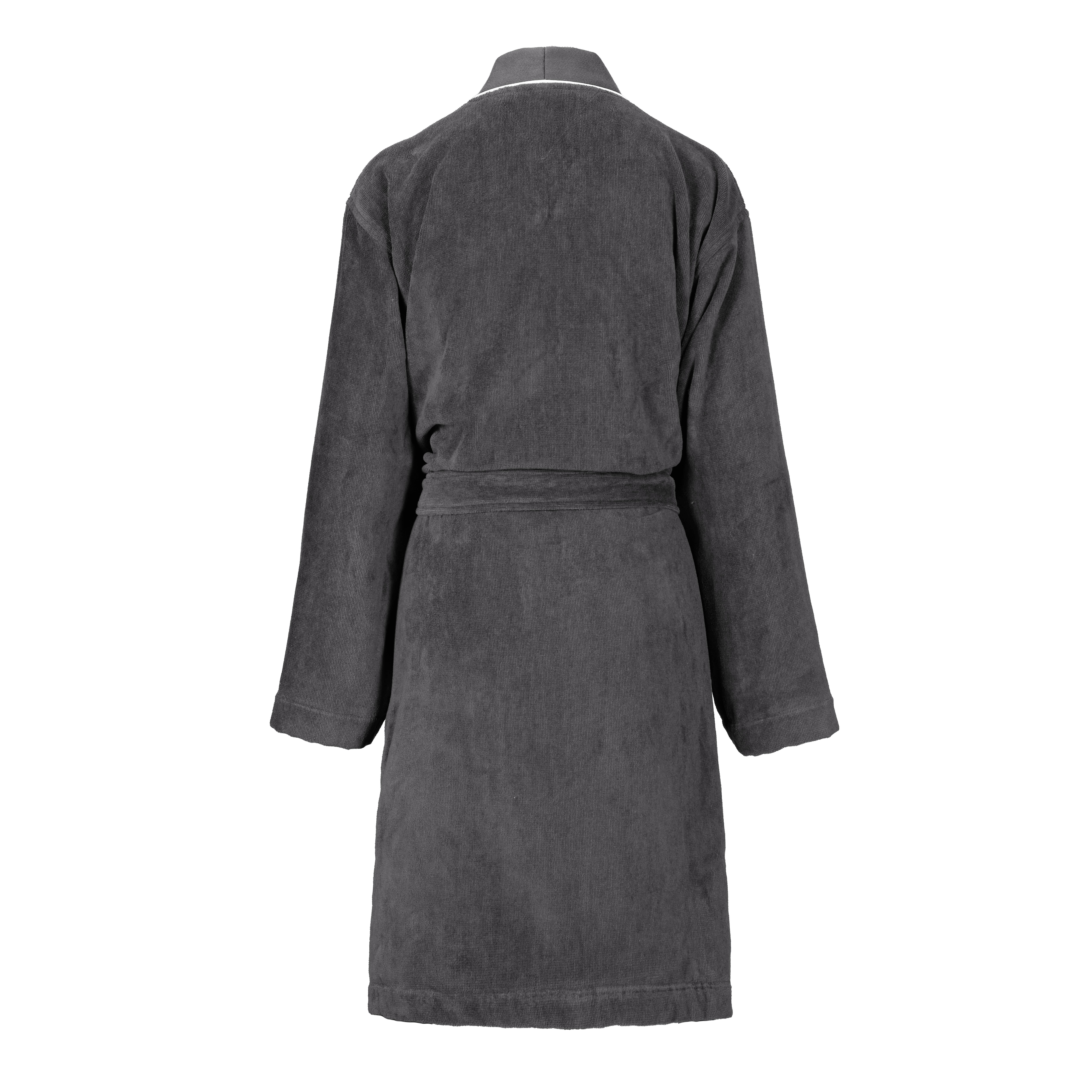 Peignoir kimono ICONIC 2 EPONGE STEEL Verso