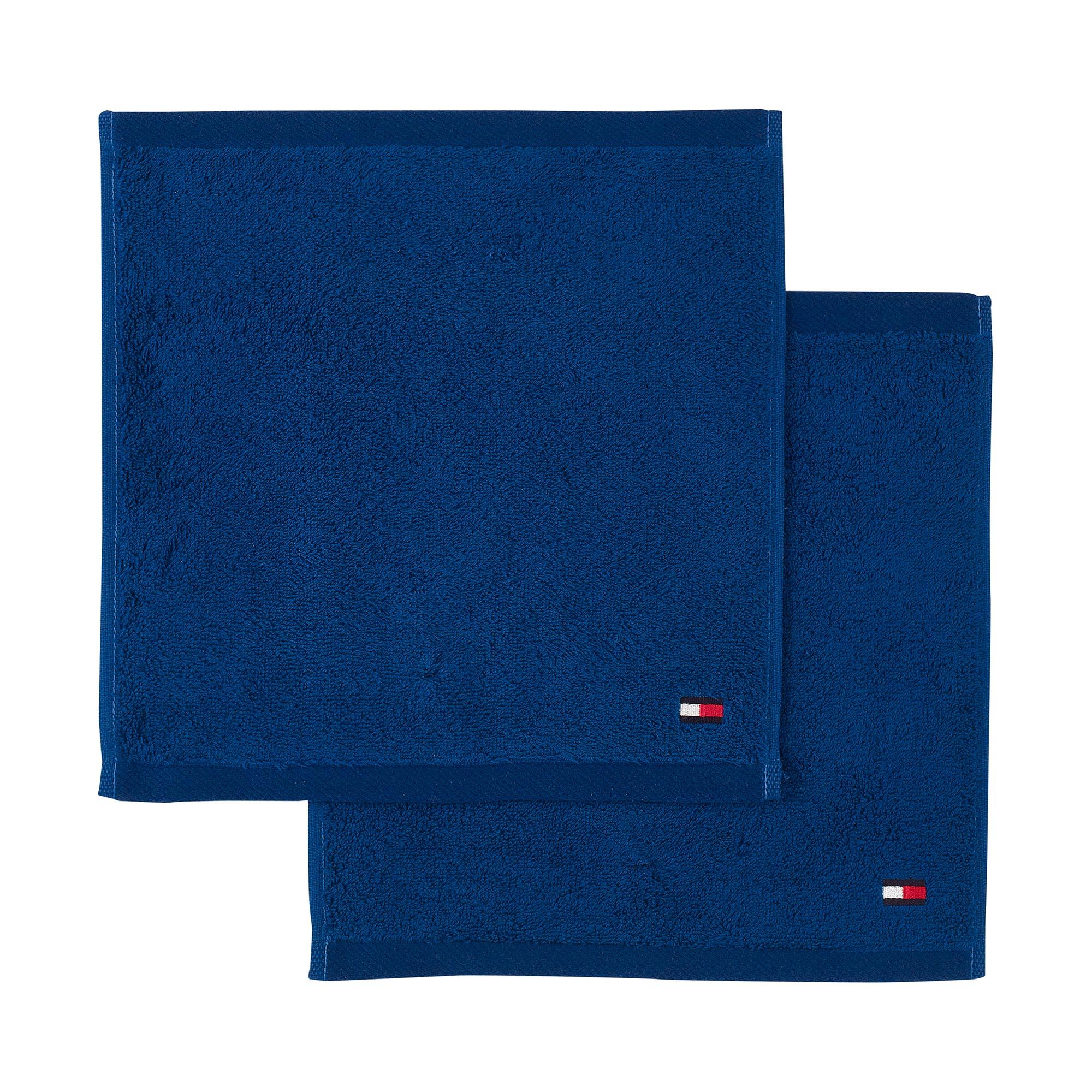 Tommy Hilfiger LEGEND 2 EPONGE 2 serviettes carrées REGATTA