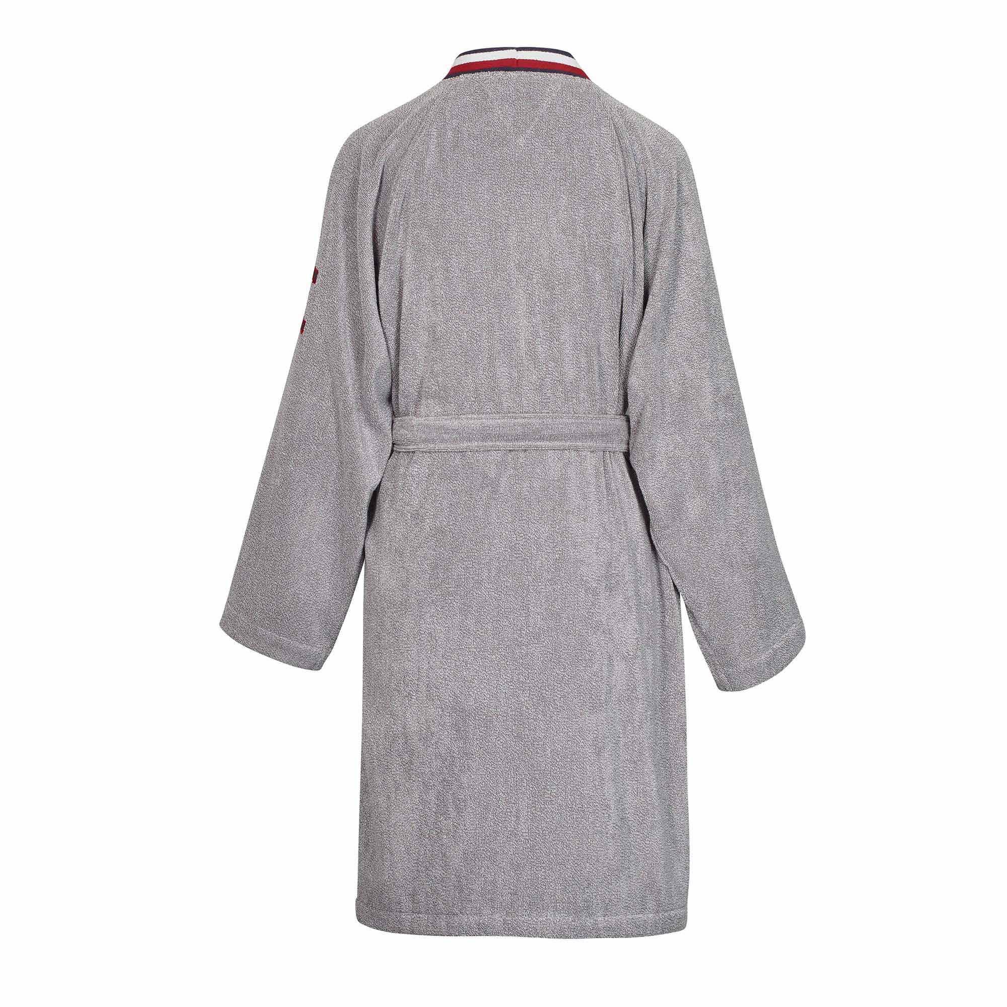 Tommy-Hilfiger-Peignoir-kimono-teddy-eponge-grey-Ghost-Dos