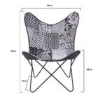 Μεταλλική/Υφασμάτινη Καρέκλα