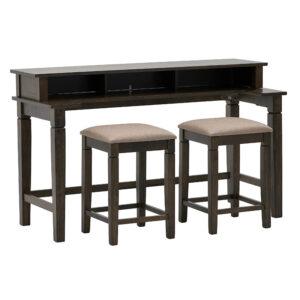 Τραπέζι Counter Height Και 2 Σ